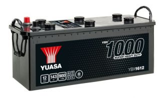 YBX6012,12V,143Ah
